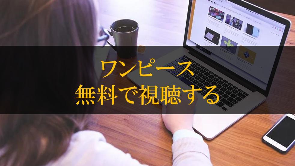 無料 動画 ワンピース